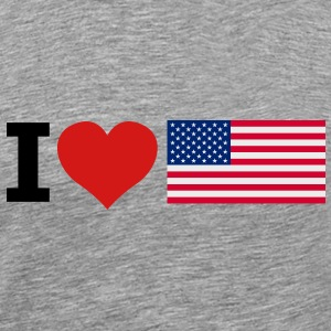 I love America - Men's Premium T-Shirt