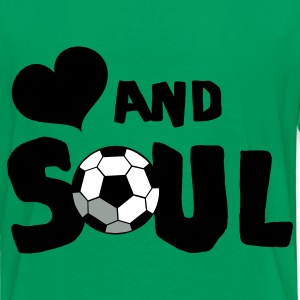 Kelly green HEART AND SOUL SOCCER Kids' Shirts - Kids' Premium T-Shirt