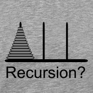 Design ~ Hanoi Recursion 3XL (on Choice)