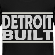 Design ~ Detroit Clothing Built Toddler T-Shirt