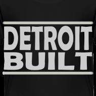 Design ~ Detroit Clothing Built Toddler T-Shirt