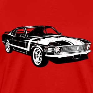 1970 Ford Mustang Boss 302 - Men's Premium T-Shirt