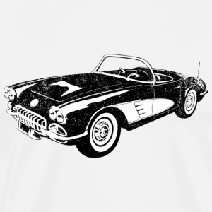 1958 Chevrolet Corvette - Men's Premium T-Shirt