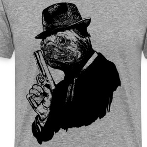 Pug Assassin - Men's Premium T-Shirt