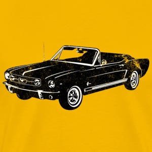 1965 Ford Mustang Convertible - Men's Premium T-Shirt