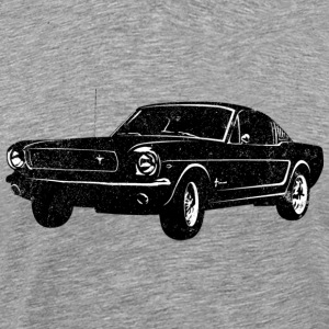 1964 Ford Mustang Fastback - Men's Premium T-Shirt