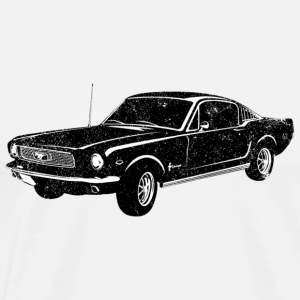 1966 Ford Mustang Fastback - Men's Premium T-Shirt