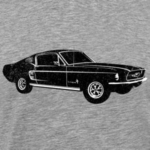 1967 Ford Mustang Fastback - Men's Premium T-Shirt