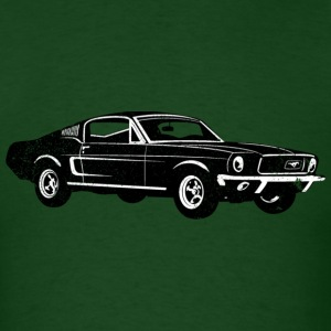 1968 Ford Mustang Fastback - Men's T-Shirt