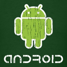 Distressed Android Logo