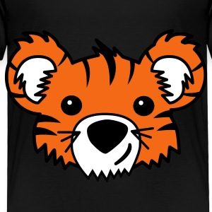 Black Tiger Cub Toddler Shirts - Toddler Premium T-Shirt