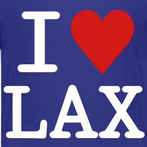 I Love LAX Toddler Shirts - Toddler Premium T-Shirt