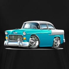 1955 Chevy Belair Turquoise Car