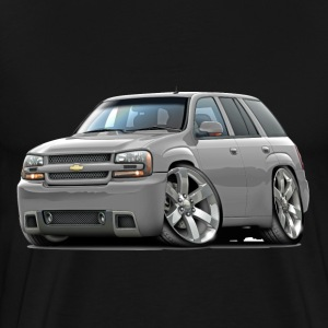 Chevy Trailblazer SS Silver Truck - Men's Premium T-Shirt
