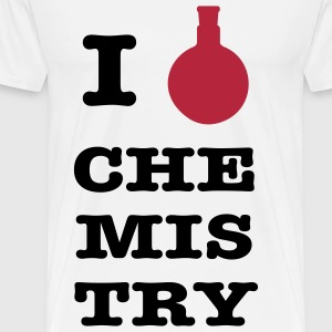 I love chemistry - Men's Premium T-Shirt