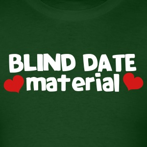 blind date material with hearts T-Shirts - Men's T-Shirt