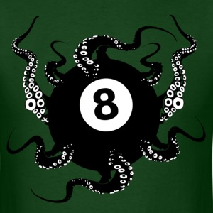 8 BALL OCTOPUS - Men's T-Shirt