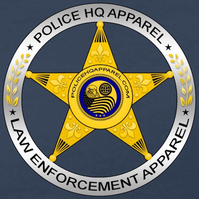 6bf1f7dc647e3 POLICE HQ APPAREL BADGE T SHIRT