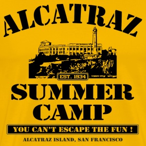 ALCATRAZ SUMMER CAMP - Men's Premium T-Shirt