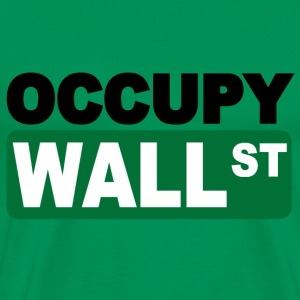 occupy wall st T-Shirts - Men's Premium T-Shirt