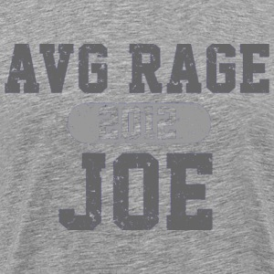 AVERAGE JOE FOOTBALL 2012 LOGO VINTAGE LOGO T SHIRT - Men's Premium T-Shirt