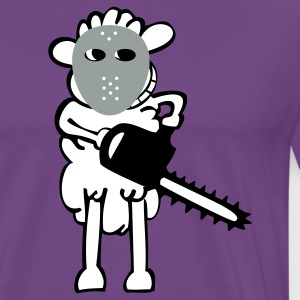 Chainsaws - Sheep T-Shirts - Men's Premium T-Shirt