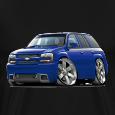 Chevy Trailblazer SS Blue Truck