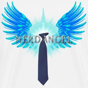 Nerd Angel T-Shirts - Men's Premium T-Shirt