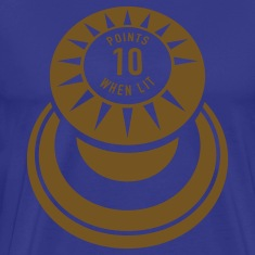 Royal blue pinball T-Shirts