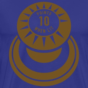 Royal blue pinball T-Shirts - Men's Premium T-Shirt