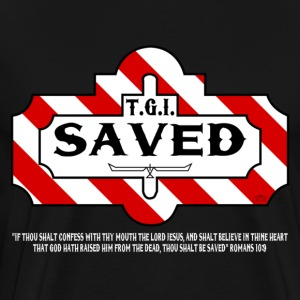 TGI Saved by GP Wear T-Shirts - Men's Premium T-Shirt