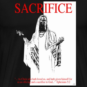 """Sacrifice"" by GP Wear T-Shirts - Men's Premium T-Shirt"