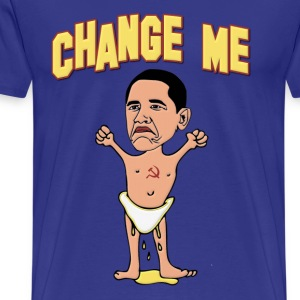 Obama Change Me Baby T-Shirts - Men's Premium T-Shirt