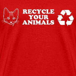 Recycle your animal - Men's Premium T-Shirt