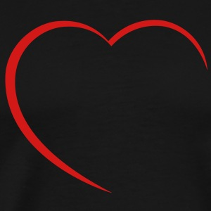 heart T-Shirts - Men's Premium T-Shirt