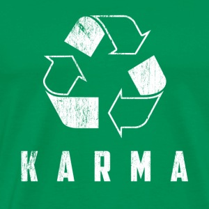 Karma recycle - Men's Premium T-Shirt