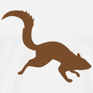 Rally Squirrel Brown 01 - Men's Premium T-Shirt