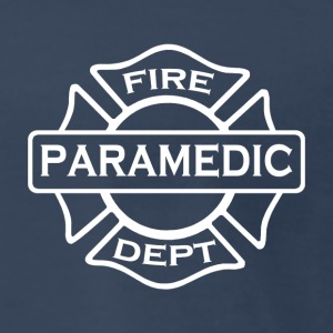 Paramedic fire fighter 2 side - Men's Premium T-Shirt