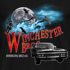 Winchester Bros Hunting Evil Since 1983 1967 chevr T-Shirts - Men's Premium T-Shirt