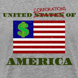 UNITED CORPORATIONS OF AMERICA - Men's Premium T-Shirt