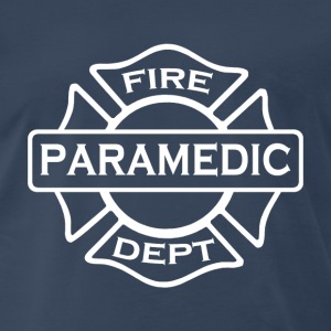 Paramedic fire department - Men's Premium T-Shirt