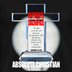 """Absolute Christian"" by GP Wear T-Shirts - Men's Premium T-Shirt"