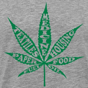 Uses 4 Hemp - Men's Premium T-Shirt