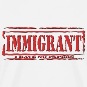 Immigrant DL - Men's Premium T-Shirt