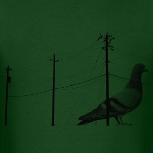 Forest green pigeonpower T-Shirts - Men's T-Shirt