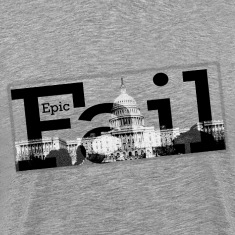 Epic Fail Capitol Men's 3XL T-Shirt