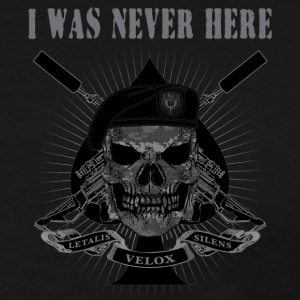 I WAS NEVER HERE - Men's Premium T-Shirt