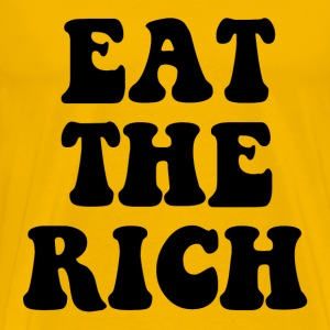 Eat The Rich Occupy Wall Street T-Shirts - Men's Premium T-Shirt