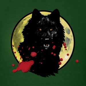 Forest green werwolf T-Shirts - Men's T-Shirt