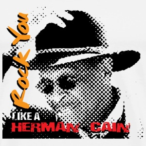 Rock You Like a Herman Cain - Men's Premium T-Shirt